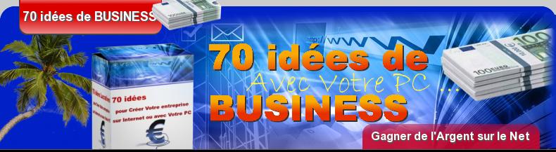 Idées D Affaires,70 Idées De Business.