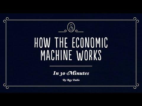 Comment fonctionne la machine économique-comment gagner de l'argent : bourse ou trading