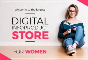 Boutique de livres électroniques pour femmes.